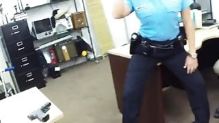 Amateur cheerleader being banged by pawn guy image