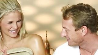 Image: Secret voyeur movie of nasty masseur copulate customers