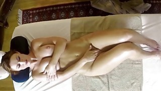 Secret masturbation and fuck in special tricky spa image