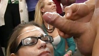 Darlings are having wild public sex with guy image