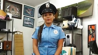 Image: Police officer pawns her stuff and banged by nasty pawn guy