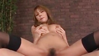 Insolent porn video with big tits milf Haruka Sanada image