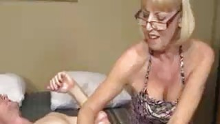 Granny Wants To See Young Big Cock Explodes image