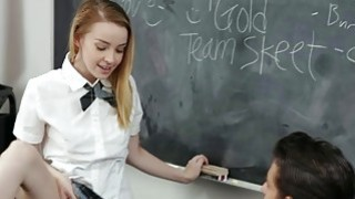 Flashing The Teacher starring Alexia Gold image