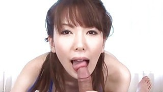 Japanese with large hooters plays with a vibrator image