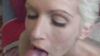 Jolene fucks and swallows some dick image