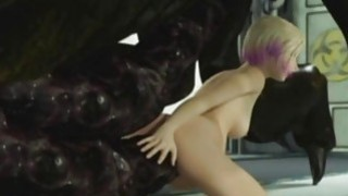 Image: 3D Alien Monsters Destroy Girls!