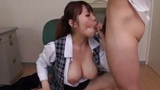Rough porn session with big tits milf Rion Nishikawa image
