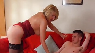 Image: AgedLove Nice blonde granny is fucked by horny man