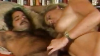 Penny Morgan and Ron Jeremy Blonde Bimbo Porno image