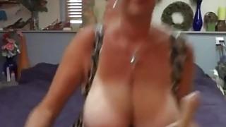 Image: Big Tittied Milf Show_Us Her Skills With SexToy