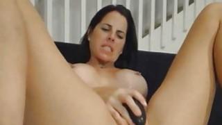 Sexy Babe Fuck By Hardcore Dildo Machine image