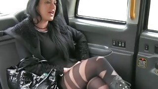 Image: Local escort in pantyhose gets rammed by pervert driver