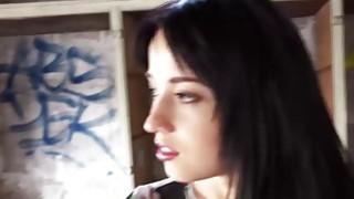 Hot brunette Russian teen Taissia Shanti fucking for money image