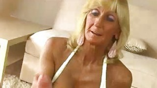 Granny And Stud Recording A Handjob And_Titfuck image