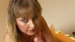 Cumloving MILF Jerks Off Stud To Erupt With Jizz image