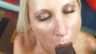 Image: Big Tit Blonde Fucked by Dark Black Cock