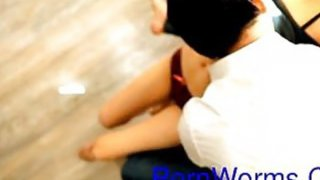 Korean Girls Sex in living room image