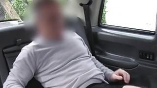 Image: Busty Brit lady bangs in fake taxi