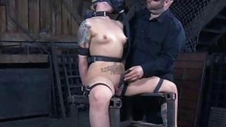 Infernal BDSM for Girl with Gas Mask! image