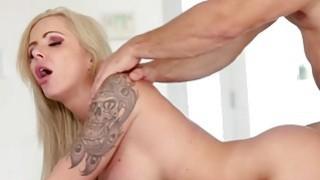 Nina Elle rides COdys big cock image
