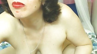 Hairy Mature Woman Doing Live Show image