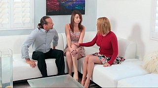 Beautiful mom share the_knowledge of anal sex image