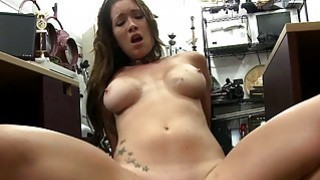 Image: Tattooed babe pawns her twat and fucked