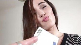 Eurobabe Carry Cherri pounded for money image