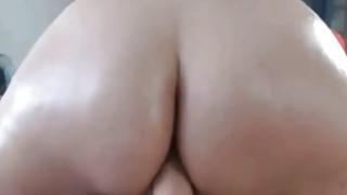 Image: Big Round Ass SexToy Riding