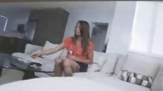 Maid caught masturbating on hidden cam image
