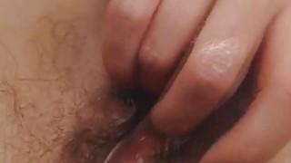 Image: Nerdy Nice Tits Babe Self Fuck on Cam
