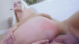 Image: Blonde Blanche ride on Keirans big hard cock