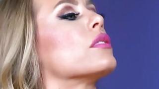 Johnny Sins eat and licks Nicole Aniston image
