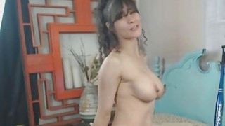 Horny Squirty Milf Fucks Pussy And Ass With Big Toys image