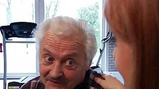 Porn casting for an old man fucking young_hot girl image