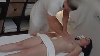 Image: Brunette Czech Girls Gets Hard Fuck in Massage Roo