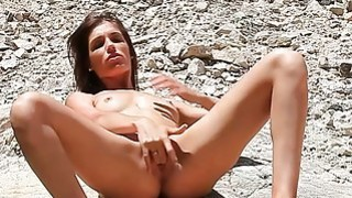 Erotic_video_art_with_hot_skinny_brunette image