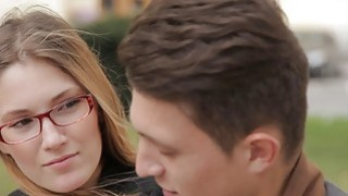 Casual Teen Sex - Teens learn English and fuck image