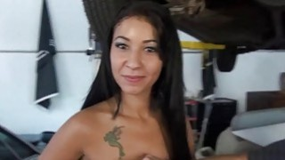 Sexy beauties flash their tits for_cash image