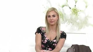 Beautiful blonde bangs fake agent pov image