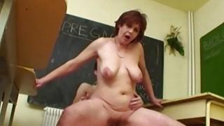 Fucking My Mature Biology Teacher In Detention image