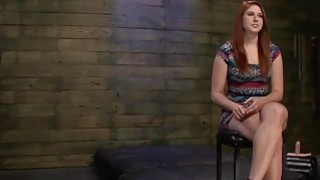 Cute Redhead Rose Red Becomes Sex Slave Of Perv With Big Cock image