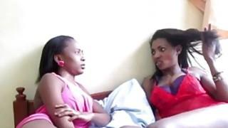 Amazing ebony babes in hot lesbian_sex action image
