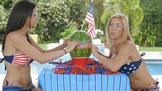 Stepdaughter and stepmom hot lesbian sex after some fun image