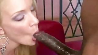 BBC Fuck Blonde MILF image
