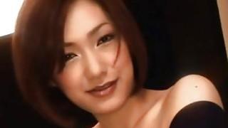 Smiling Japanese Cutie Wraps_Her_Lips Around Stiff Cock image