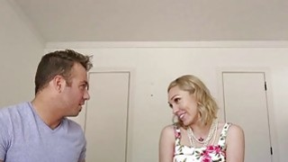 Blonde babe Lily Labeau takes it in the_ass for the first time image