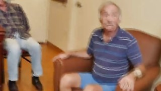 Creepy Old Guys Seduce And Fuck Sexy Petite Teen image
