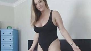 Raiding Man Torso And Bouncing Big Fake Tits image